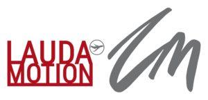 LaudaMotion_Logo_nebeneinander_sw_kl