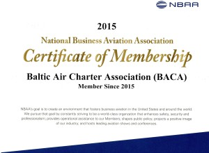 NBAA certificate 2015