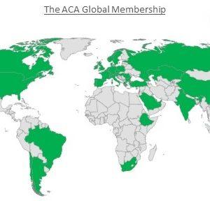 The ACA Membership Map