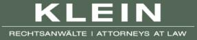 Klein Rechtsanwalte AG